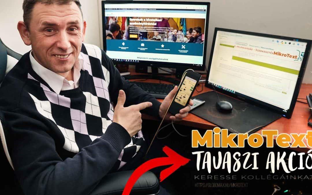 MikroText beszédfelismerő