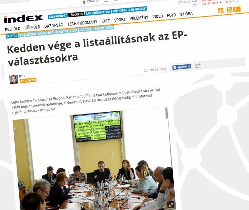 A Nemzeti Választási Bizottság is a Globomax MikroVoks szavazó- és konferencia rendszerét használja!