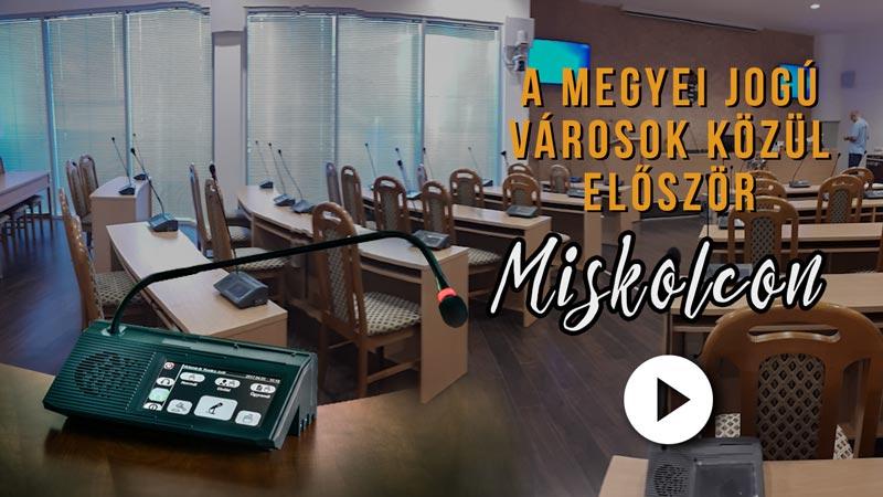 Megyei jogú városok közül először Miskolcon…