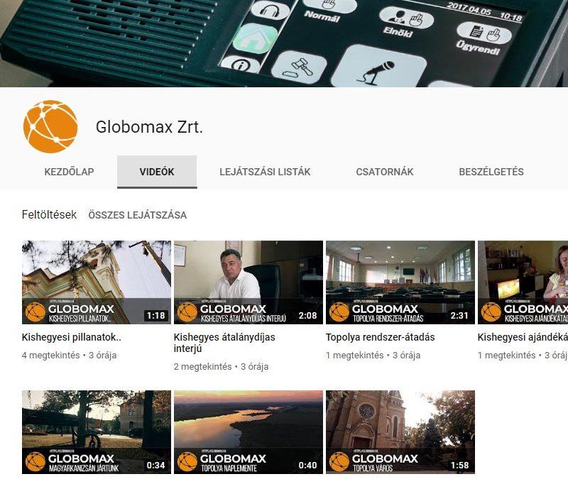 Elindítottuk YouTube csatornánkat