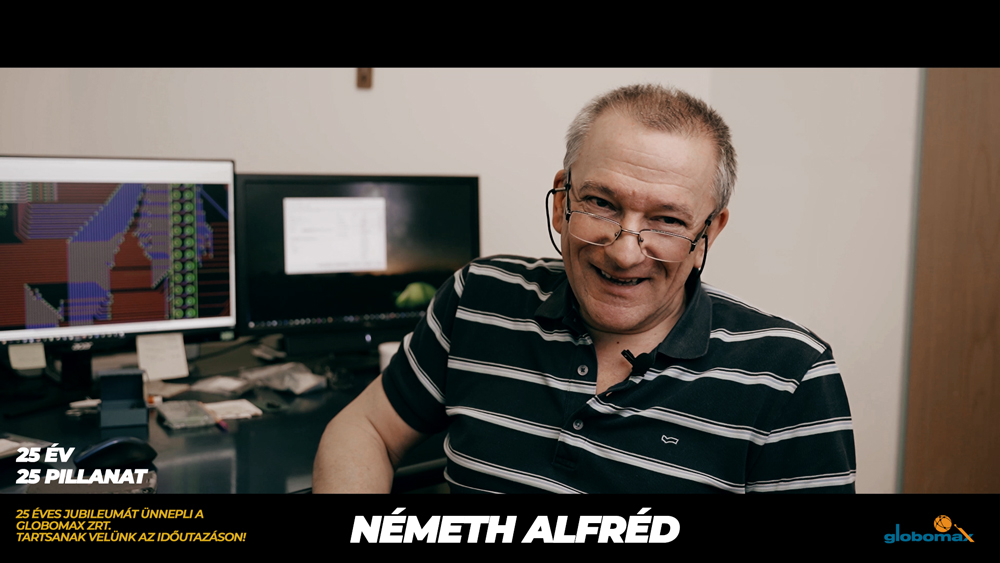 25 éves a Globomax : Németh Alfréd