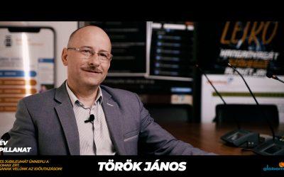25 éves a Globomax : Török János