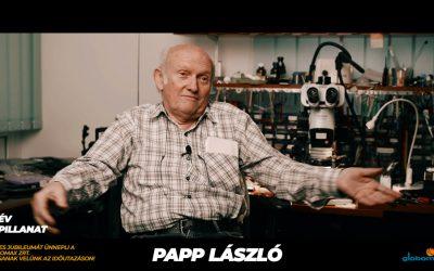 25 éves a Globomax : Papp László