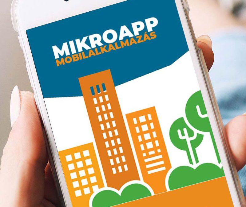 MikroApp mobilalkalmazás